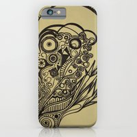 iPhone & iPod Case featuring Skull by Kate Kang