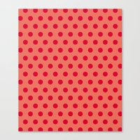 Dots Collection  Canvas Print