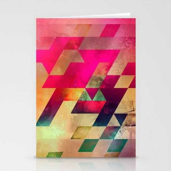 syx nyx Stationery Card