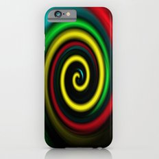 Swirling colours. iPhone 6s Slim Case