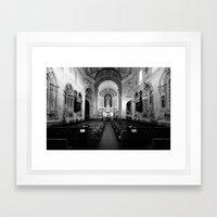 Saint Peter's church Framed Art Print