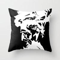 An Old Man Throw Pillow