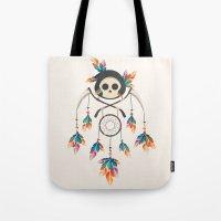 Angel De La Muerte Tote Bag