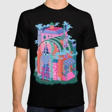 The Seeing House MEDIUM Mens Fitted Tee Black
