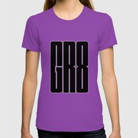 GR8 Womens Fitted Tee Ultraviolet SMALL
