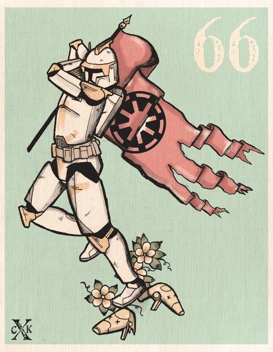 Sailor Cody Art Print