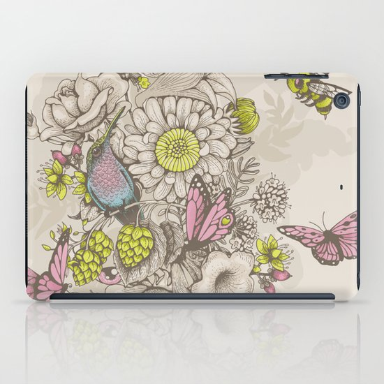 Beauty (eye of the beholder) - cream version iPad Case