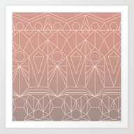 Art Print featuring My Favorite Pattern 10 Y by Mareike Böhmer Grap…