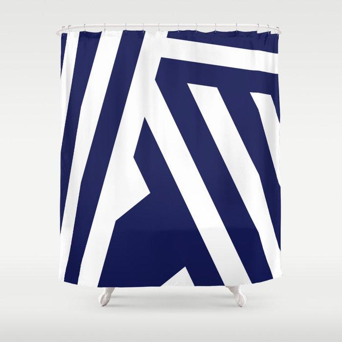 Nautical Stripes Shower Curtain By Charlene Mccoy Society6