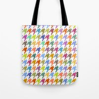 Houndstooth!  Tote Bag