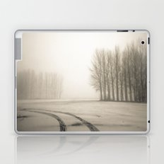 Tyre tracks in snow Laptop & iPad Skin