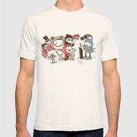 Costume Party Mens Fitted Tee Natural SMALL