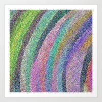 Color Arc Number Two Art Print