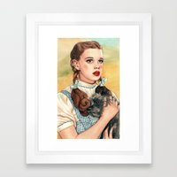 I Don't Think We're In K… Framed Art Print