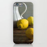iPhone & iPod Case featuring Three lemons by Xaomena