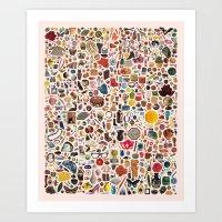 INDEX Art Print