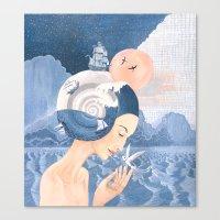 Sound of Sea Canvas Print