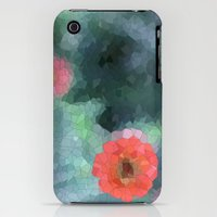iPhone 3Gs & iPhone 3G Cases featuring flower mosaic  by Hannah