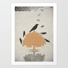 The Carrion Crow 1 Art Print