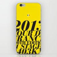 2013 Tour de France: Maillot Jaune iPhone & iPod Skin