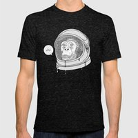 One Small Step, One Gian… Mens Fitted Tee Tri-Black SMALL