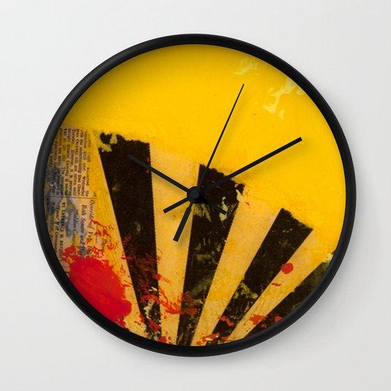 YELLOW5 Wall Clock