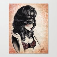 Haute Mess Series Canvas Print