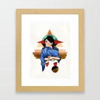 Libra (Zodiac) Framed Art Print