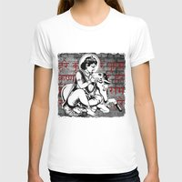Gopala  Womens Fitted Tee White SMALL