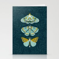 Lepidoptery No. 8 By And… Stationery Cards