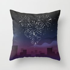 When I first saw you Throw Pillow