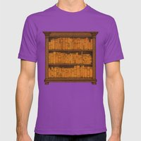 Many Doors Mens Fitted Tee Ultraviolet SMALL