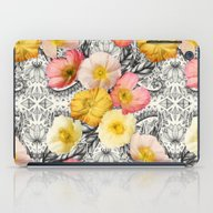 Collage Of Poppies And P… iPad Case