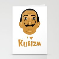 I Love Kubizm Stationery Cards