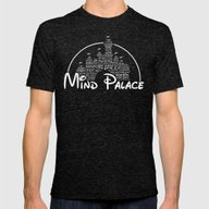 Mind Palace Mens Fitted Tee Tri-Black SMALL