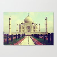 Taj Mahal By Rasmus Verd… Canvas Print