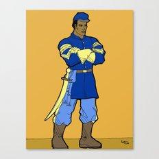 Union Soldier Canvas Print