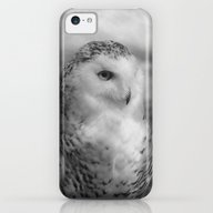 Snowy Owl - B & W iPhone 5c Slim Case