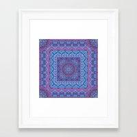 Farah Squared Framed Art Print