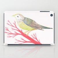 Little Green Bird iPad Case