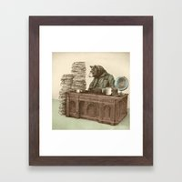 Bearocrat Framed Art Print