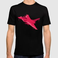 Ink Jet SMALL Mens Fitted Tee Black