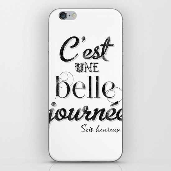 Une belle journée iPhone & iPod Skin