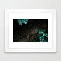 Lake Tahoe Milky Way Framed Art Print