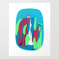 Smurf Falls Art Print