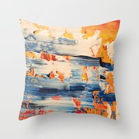 THREADED Throw Pillow