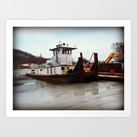 Tugboat Art Print