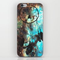 Dreamcatcher (blue) iPhone & iPod Skin