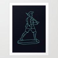 The Gurkhas Art Print