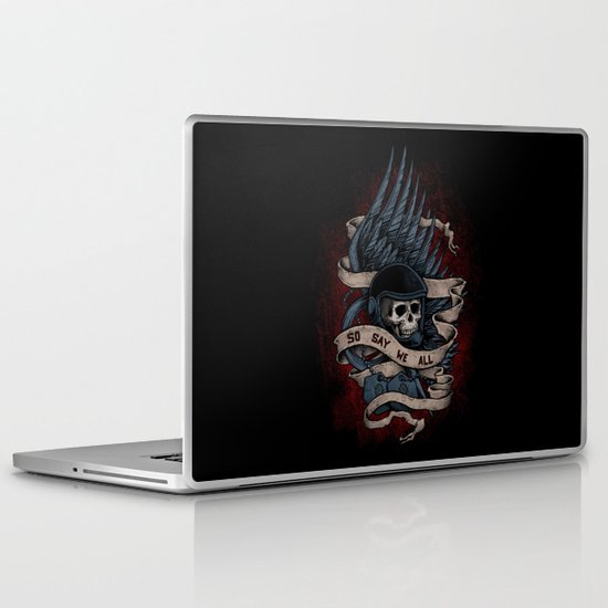So Say We All Laptop & iPad Skin